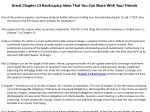 great chapter 13 bankruptcy ideas that you can share with your friends