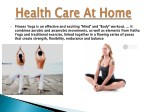 fitness yoga is an effective and exciting mind