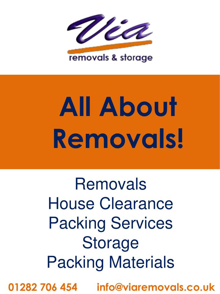 all about removals n.