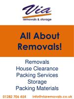 all about removals