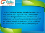 looking for forex trading signals provider