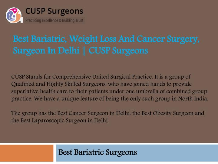 best bariatric weight loss and cancer surgery surgeon in delhi cusp surgeons n.