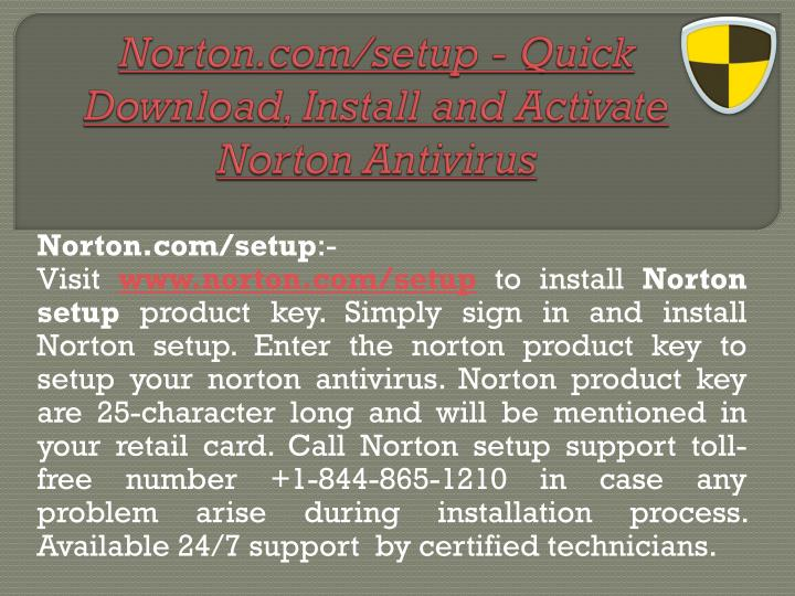 norton com setup quick download install and activate norton antivirus n.