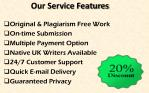 our service features