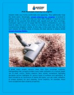 pick the carpet cleaning los angeles