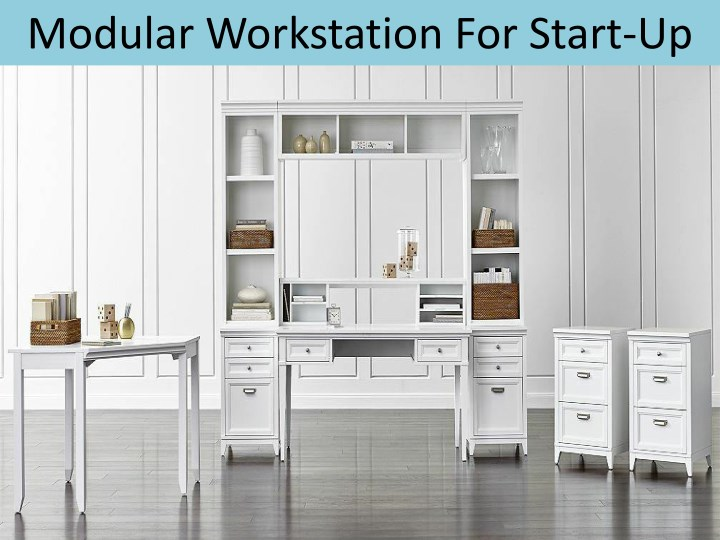 modular workstation for start up n.