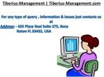 tiberius management tiberius management com 4