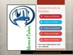 dubai movers packers