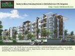 ready to move flats apartments in whitefield near