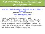 gen 499 papers successful learning gen499papers 12