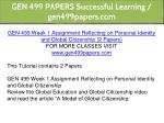 gen 499 papers successful learning gen499papers 2