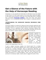 get a glance of the future with the help