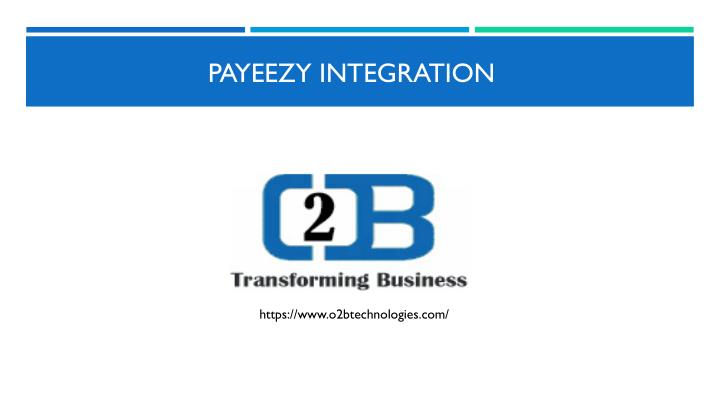 payeezy integration n.
