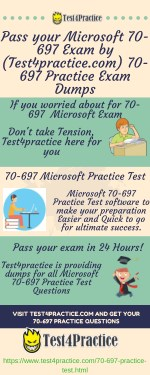 pass your microsoft 70 697 exam by test4practice