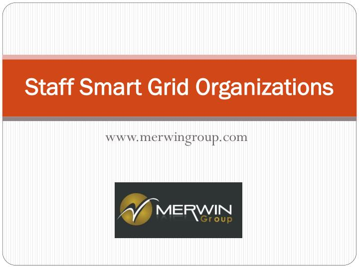 staff smart grid organizations n.