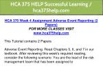 hca 375 help successful learning hca375help com 12