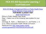 hca 415 aid successful learning hca415aid com 6