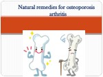 natural remedies for osteoporosis natural