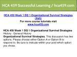 hca 459 successful learning hca459 com 2