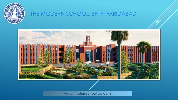 the modern school bptp faridabad n.