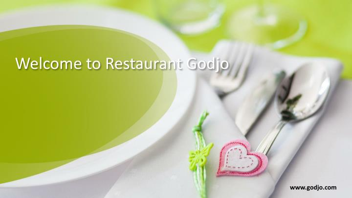 welcome to restaurant godjo n.