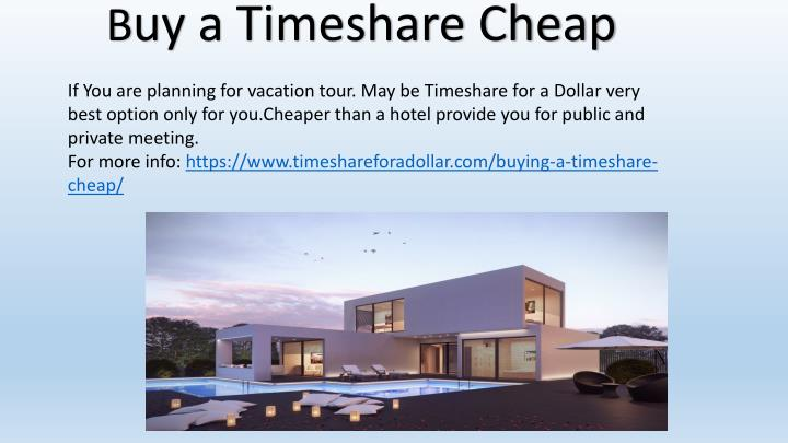 b uy a timeshare cheap n.