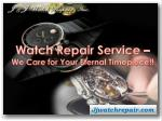 watch repair service we care for your eternal