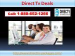 direct tv deals