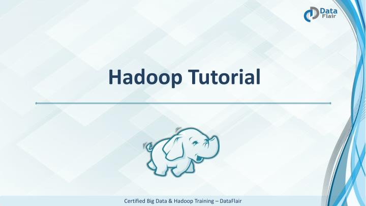 hadoop tutorial n.