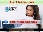 direct tv channels