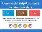 commercial voip internet service providers 1