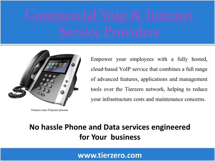 commercial voip internet service providers n.