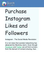 purchase instagram likes and followers instagram