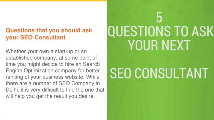questions that you should ask your seo consultant n.