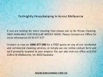 fortnightly housekeeping in across melbourne 1