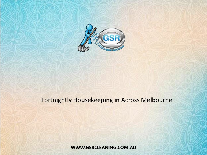fortnightly housekeeping in across melbourne n.