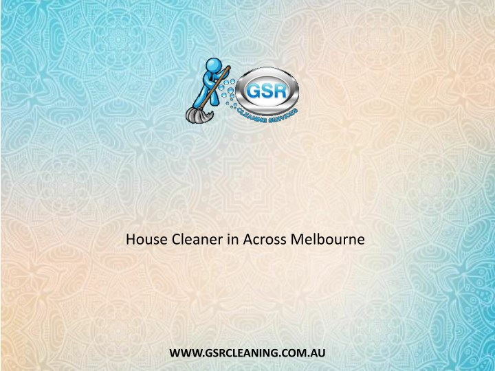 house cleaner in across melbourne n.