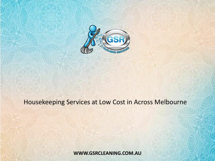 housekeeping services at low cost in across n.