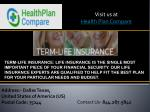 visit us at health plan compare 5