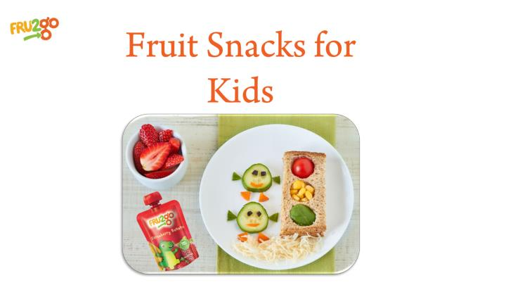 fruit snacks for kids n.