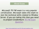 about exam