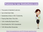 features to use grades4sure com