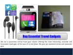 buy essential travel gadgets