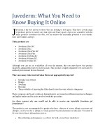 juvederm what you need to know buying it online j