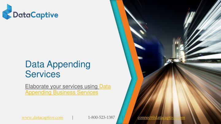 data appending services n.