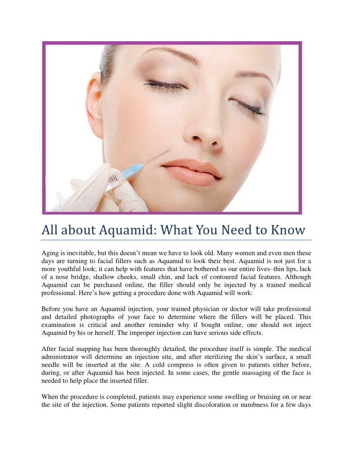 all about aquamid what you need to know n.
