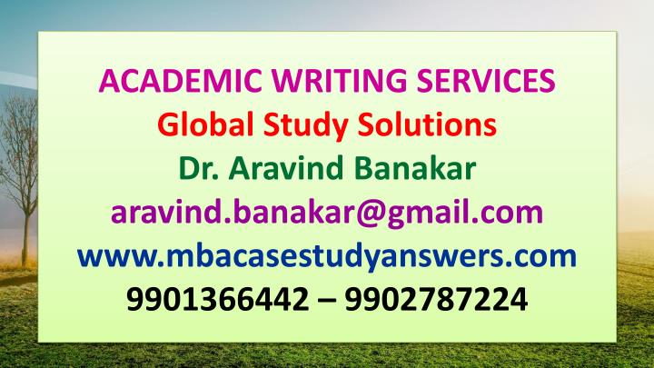 academic writing services global study solutions n.