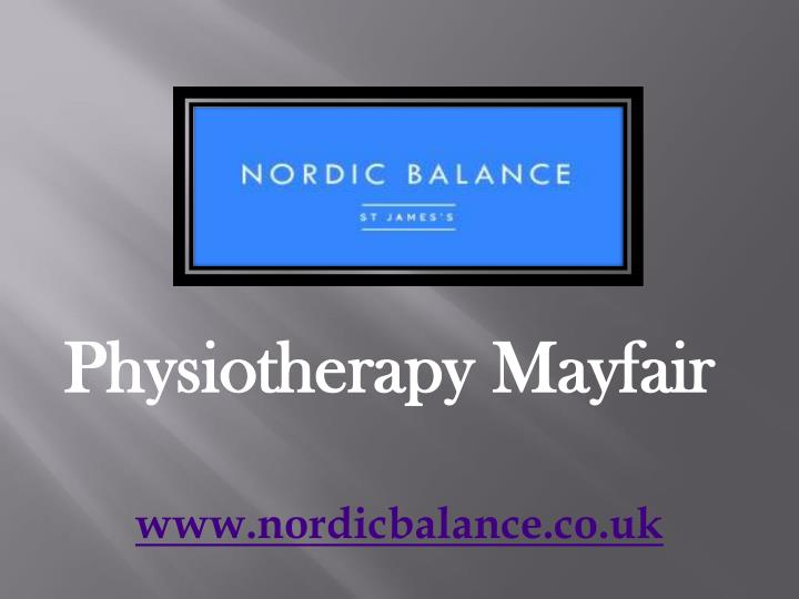 physiotherapy mayfair n.