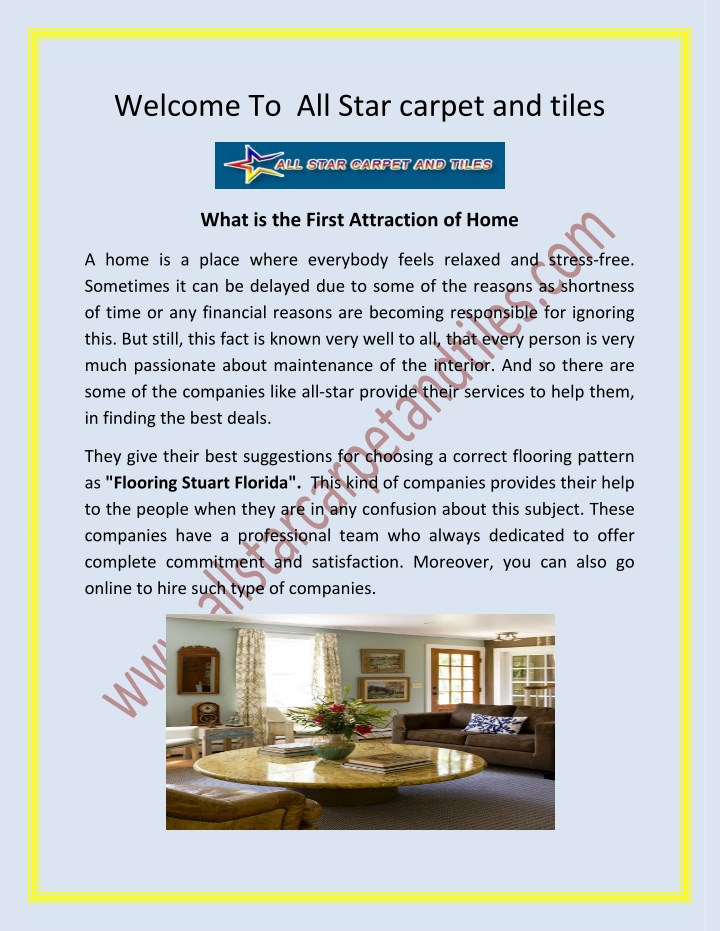 welcome to all star carpet and tiles n.