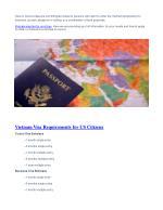 visa on arrival visas are nonimmigrant visas